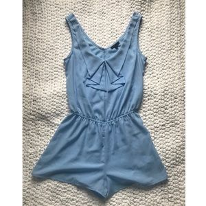 Other - Baby Blue Romper